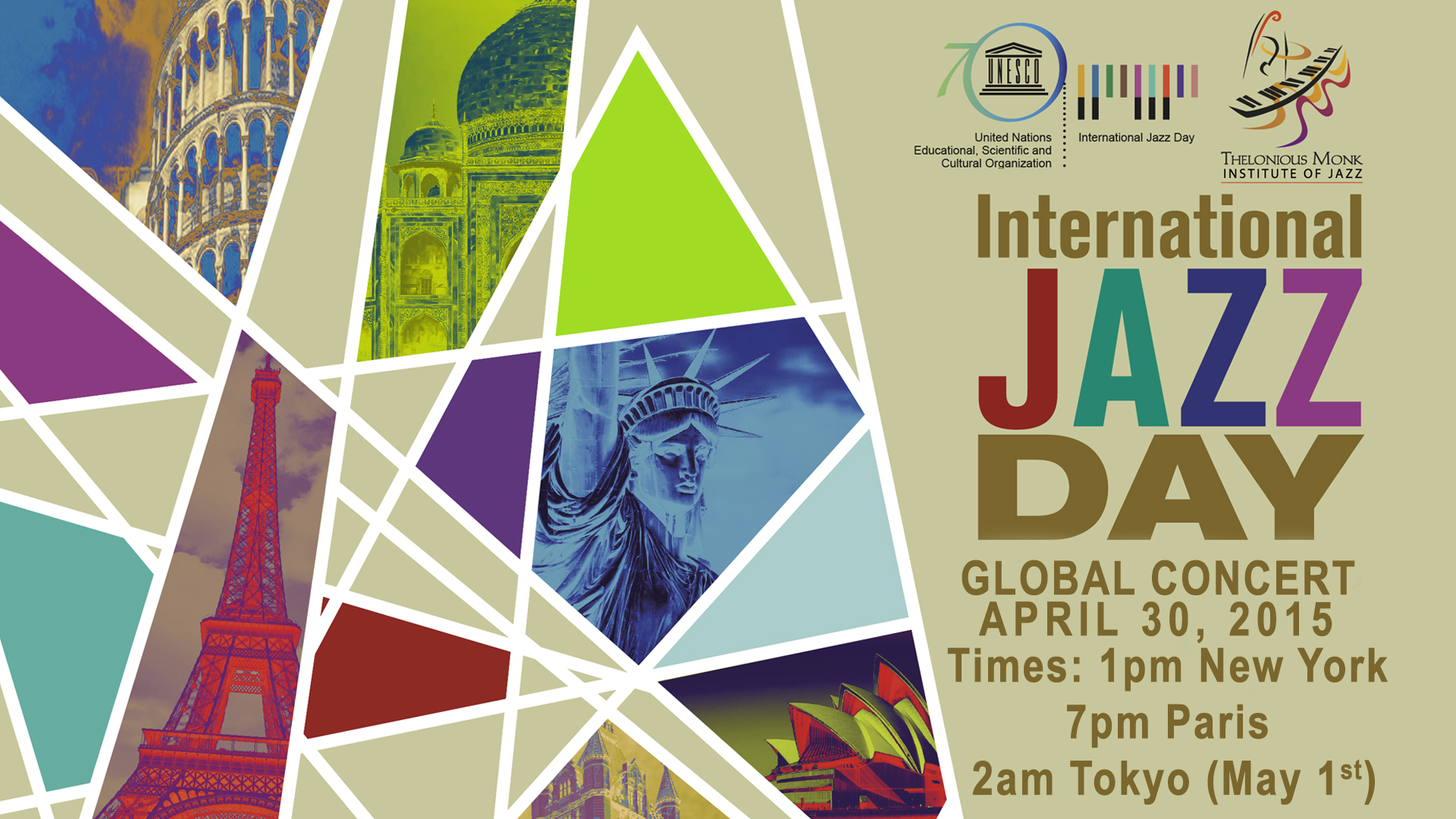 2015 International Jazz Day – Paris, France